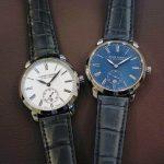 どちらも上質な時計に相応しくシンプルでクラシカル